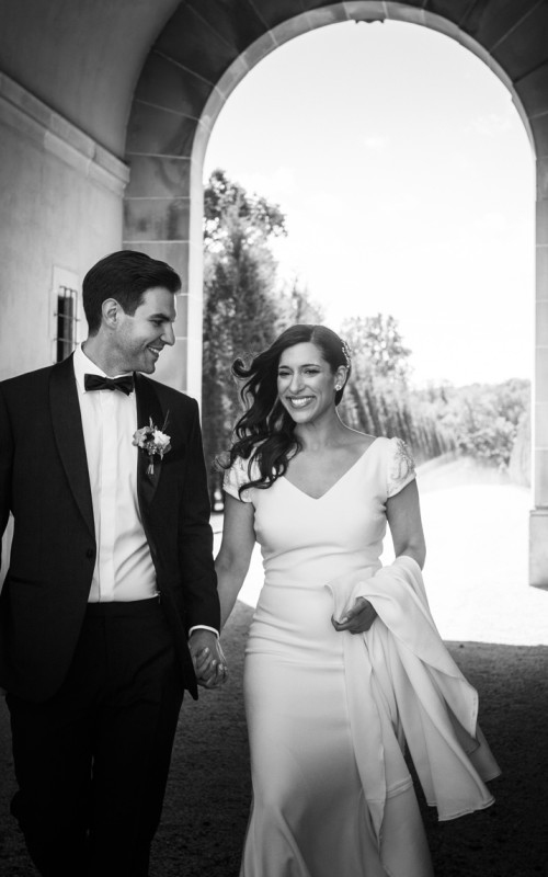 Stefanie and Ted. Wedding at the Oheka Castle